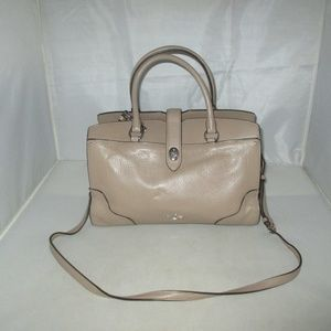COACH 37575 Mercer 30 Grain Leather Satchel